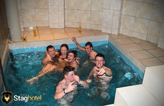 Riga Stag Hotel pool party