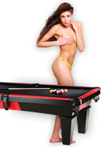 Riga Stag Hotel - Topless Billiards Pool Game in the Best Riga Stripclub