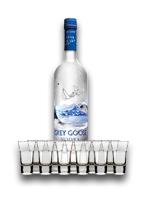 Riga Stag Hotel - Party with Grey Goose Shots in Riga